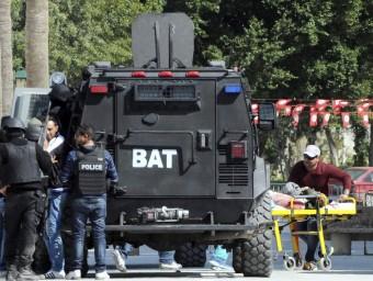 El creuer en què anaven els dos morts catalans a Tunísia arribarà aquest divendres a Barcelona EFE