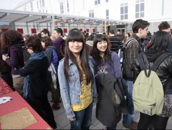 Estudiants xinesos a la URV.  ARXIU