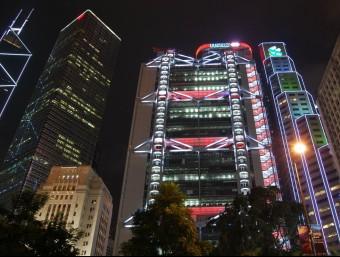 La seu de l'HSBC de Hong Kong dissenyat per Norman Foster integra el Feng Shui.  ARXIU