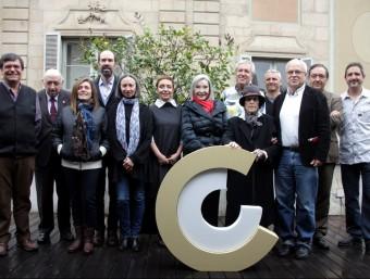 Els 10 guanyadors dels Premis Nacionals de Cultura concedits pel CoNCA, aquest dimecres a Barcelona ACN