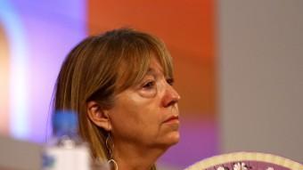 Any 2011: Manuela de Madre en el Consell Nacional del PSC. ALBERT SALAMÉ