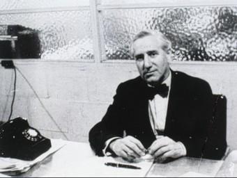 """Carles Pi Sunyer va escriure el 1927 sobre """"les activitats dels catalans d'Amèrica"""".  ARXIU"""