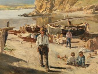 Un Gimeno inèdit: 'Llançà' (1890), procedent d'una col·lecció americana
