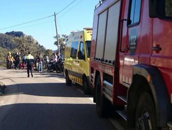 L'accident que va tenir lloc a Darnius ACN