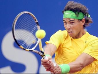 Rafa Nadal s'ha erigit en jugador fetitxe de l'Open Banc Sabadell Trofeu Comte de Godó  ARXIU