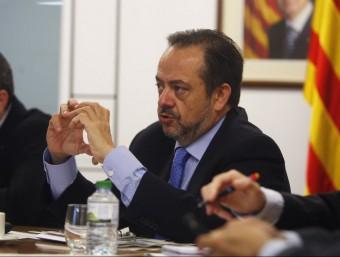 Josep Ramon Sanromà, conseller delegat.  ARXIU
