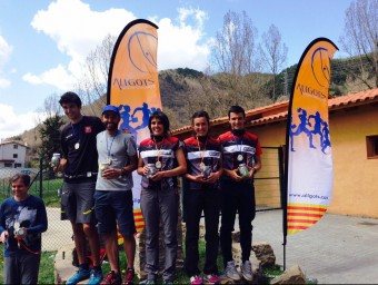 Els vencedors a Vallfogona ALIGOTS GIRONA