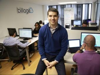 Antoni Guitart és un dels socis fundadors de Billage.  ANDREU PUIG