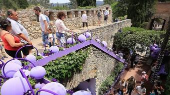 Múltiples activitats  a Girona coincidint amb Temps de flors.