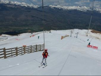L'estació d'esquí de la Masella en una imatge dels darrers dies ACN