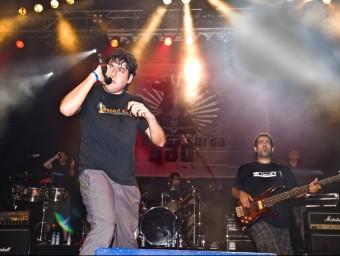 Actuació de La Gossa Sorda en la cloenda de La Gira 2008. J.PAU MSF