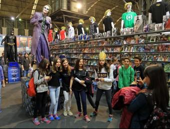 Barcelona's Saló del Còmic  Juanma Ramos