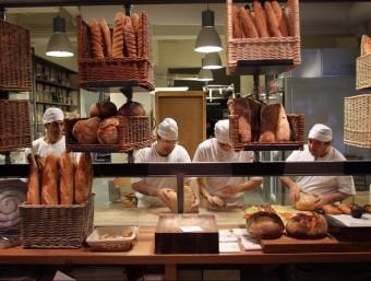 Entre els estands dels que oferien feina a Baden-Wüttemberg hi havia els forners d'aquest 'land'.  ARXIU