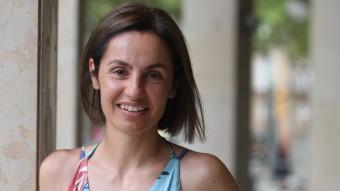 Anna Caula, número dos de Junts pel Sí a Girona. LLUÍS SERRAT