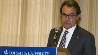 El president de la Generalitat, Artur Mas, a Columbia Miguel Rajmil, EFE