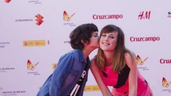 Natalia de Molina, millor actriu, i Jaime López, protagonistes de 'Techo y comida' al Festival de Màlaga JORGE ZAPATA/EFE