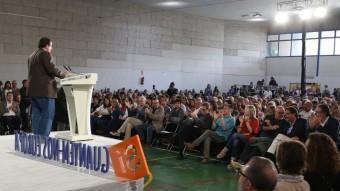 Un míting, en una imatge d'arxiu. ANDREU PUIG