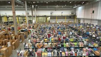 El centre logístic que Amazon té als afores de Madrid X.A