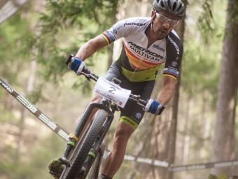 Josep Antoni Hermida en la cursa d'aquest diumenge
