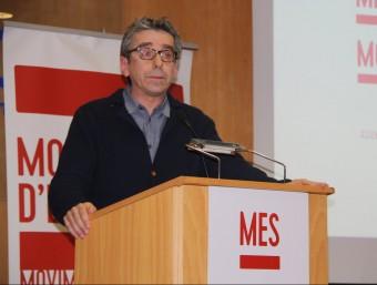 Jordi Martí, portaveu de MES, en una imatge del passat gener ACN
