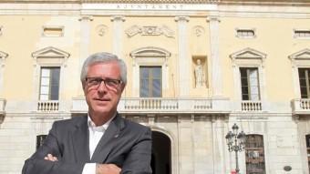 Josep Fèlix Ballesteros,  candidat del PSC a Tarragona. JUDIT FERNÀNDEZ