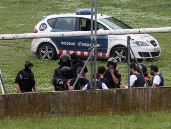 El succés de diumenge va originar la mobilització, entre altres, de mossos de l'ARRO i del Grup Especial d'Intervenció (GEI) JOAN CASTRO / ICONNA