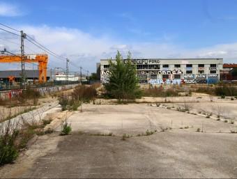 Els terrenys a l'entrada sud de Girona on es construirà la nova Clínica Girona manel lladó
