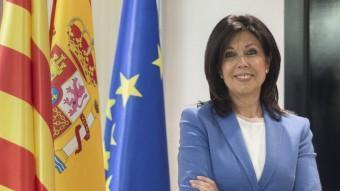 Dolors López, candidata del PP a l'alcaldia de Lleida. PP