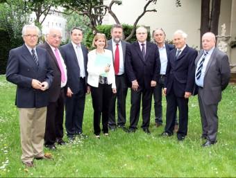 Alcaldes catalans del nord i del sud que participen en el projecte ACN