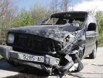 El vehicle que conduïa el jove que ha estat detingut pels Mossos d'Esquadra per provocar l'accident i anar begut ACN