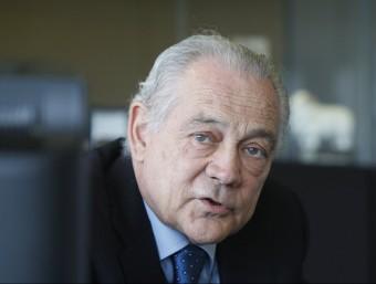 Eusebi Cima presideix el centre tecnològic Leitat i va ser president de Fepime i de la Cecot.  ORIOL DURAN
