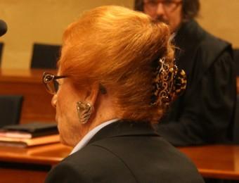 Christiane Françoise ahir a l'Audiència ACN