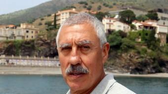 L'alcaldable de la Candidatura Local de Portbou-CP, Francisco Abalos Garcia. QUIM PUIG