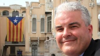 Andreu Garriga, cap de llista de Solidaritat (SI) JOAN SABATER