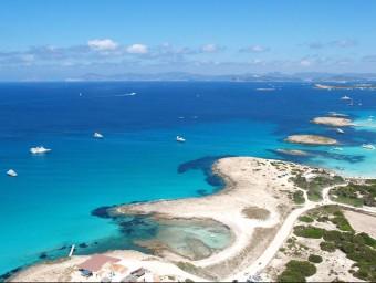 Una imatge d'una part de Formentera ARXIU