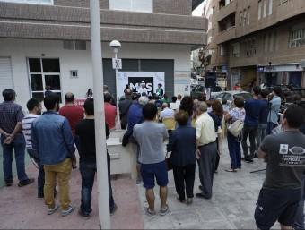 Acte de presentació del programa electoral de Més Xixona. EL PUNT AVUI