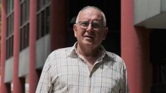El cap de llista de CiU a Santa Cristina. Josep Llensa E.A.