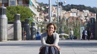 Ada Colau, fotografiada a la Rambla del Carmel. Oriol Duran