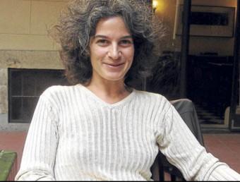 Maria Bohigas, editora, traductora i néta de Maria Pi i Ferrer.  ARXIU