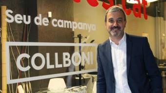 Jaume Collboni, candidat del PSC a Barcelona. Elisabeth Magre