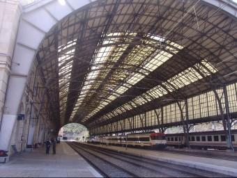 Estació de tren de Portbou, una de les estacions claus en l'espai català transfronterer O.M