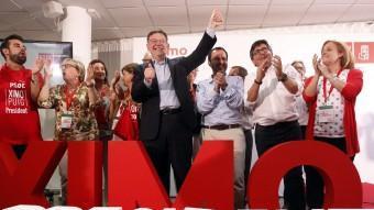 El líder dels socialistes valencians, Ximo Puig. AGÈNCIES