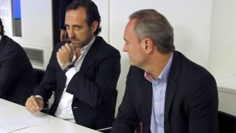 El president de les Illes Balears, José Ramón Bauzá, aquest dilluns a l'executiva del PP, a Madrid EFE
