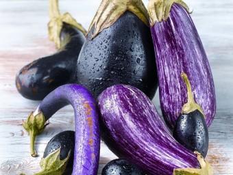 Aubergines or eggplant (USA)