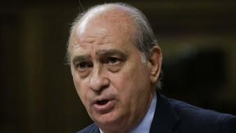 El ministre espanyol d'Interior, Jorge Fernández Díaz, aquest dimecres al Congrés EFE