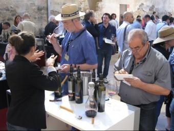 L'acte estrella de la mostra, el tast de vins, es va dur a terme a la Cartoixa d'Escaladei.  M.R.C