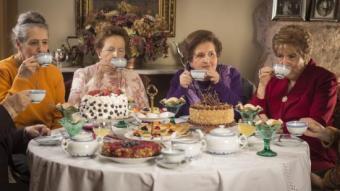 Les protagonistes de 'Tea time' es reuneixen des de fa 60 anys per prendre el te