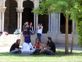 Tenir informació del sistema universitari ajuda a ampliar el coneixement educatiu.  ARXIU /QUIM PUIG