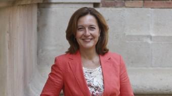 Carina Mejías, al Parlament, on mantindrà l'escó de diputada fins al setembre ORIOL DURAN