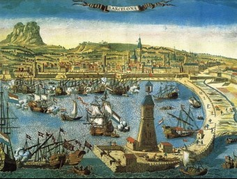 El Port de Barcelona ha estat cabdal els darrers segles per impulsar l'economia catalana.  ARXIU
